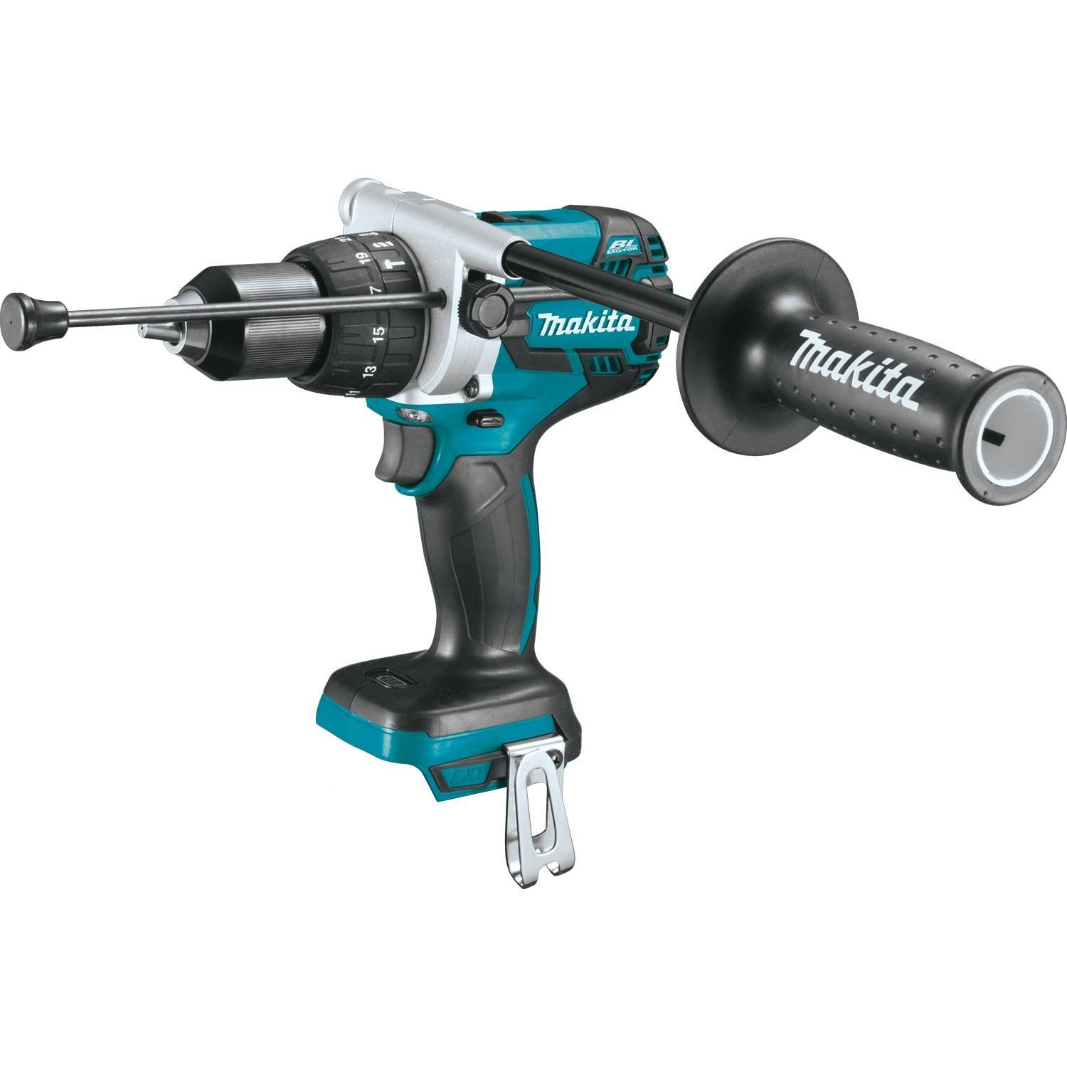 "Makita Lithium-Ion Brushless Cordless 1/2"" Hammer Driver-Drill"