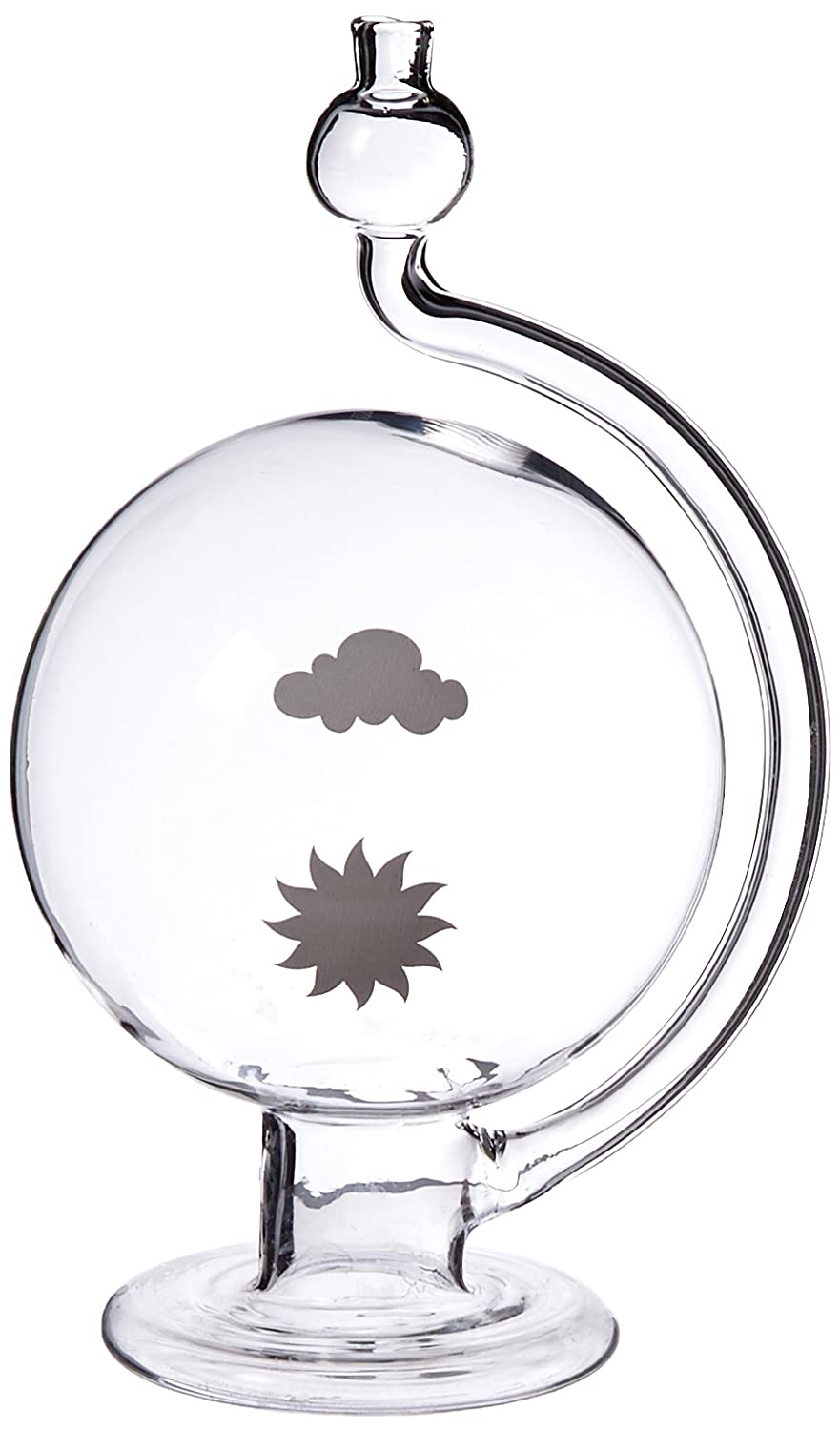 GSC International WG-1 Weather Globe Barometer, Glass Thomas Scientific