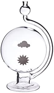 GSC International WG-1 Weather Globe Barometer, Glass