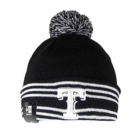 huge selection of ee168 92503 Image Unavailable. Image not available for. Color  New Era Beanie MLB Sport  Knit Headwear Texas Rangers Men Size Hat ...