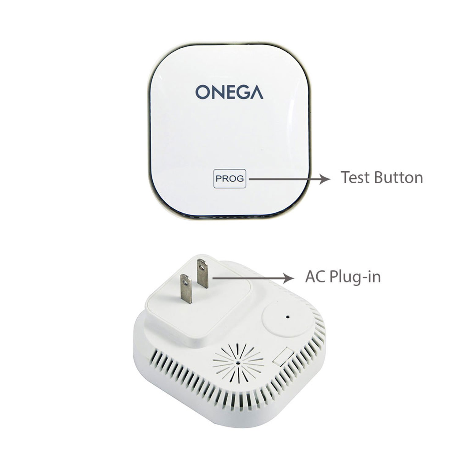 Carbon Monoxide Detector Alarm with Sound Warning and AC Plug-in Operated by Onega (Image #2)