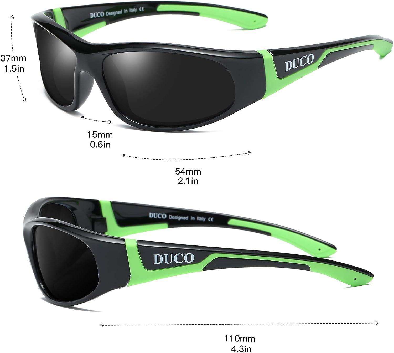 LUCDASPI Kids Polarized Sunglasses TPEE Rubber Flexible For Boys Girls 3-12,Sport,Travel,100/% UV Protection