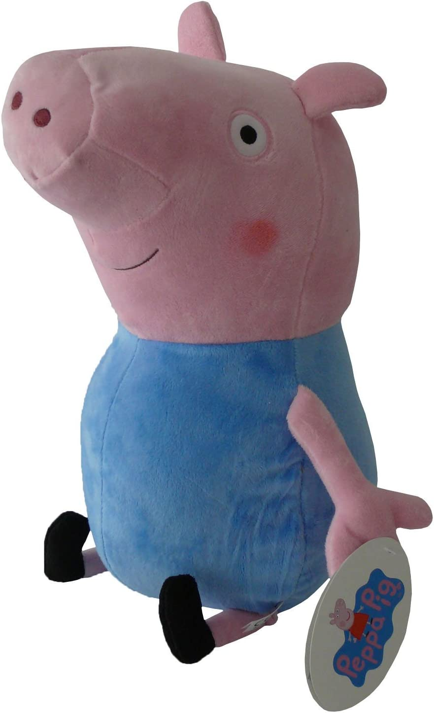 Peppa Pig - George Clásico 27cm Calidad super soft - Peluche - Ouast