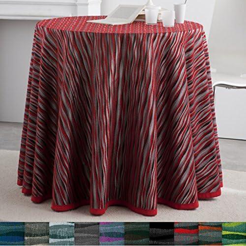 Falda para Mesa Camilla Redonda Modelo Marrakech, Color Gris ...