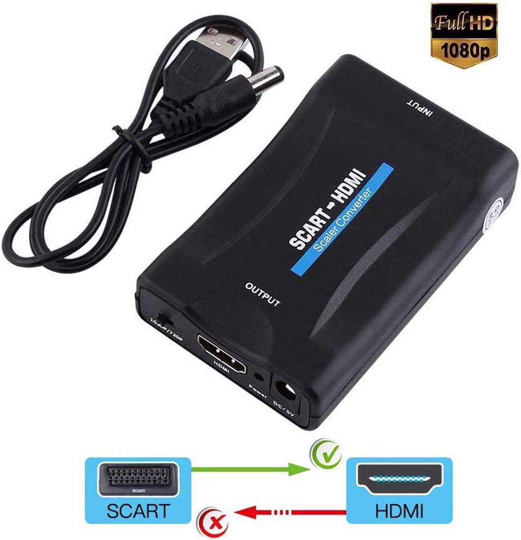 Scart To Hdmi Converter Adapter Scart To Hdmi Elektronik