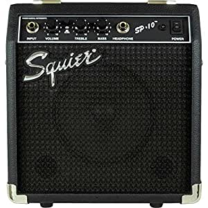 squier by fender sp 10 portable electric guitar amplifier musical instruments. Black Bedroom Furniture Sets. Home Design Ideas