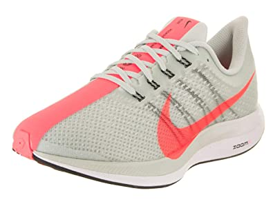 newest cc54a d7720 Nike Zoom Pegasus 35 Turbo Women s Running Shoe Barerly Grey Hot  Punch-Black-