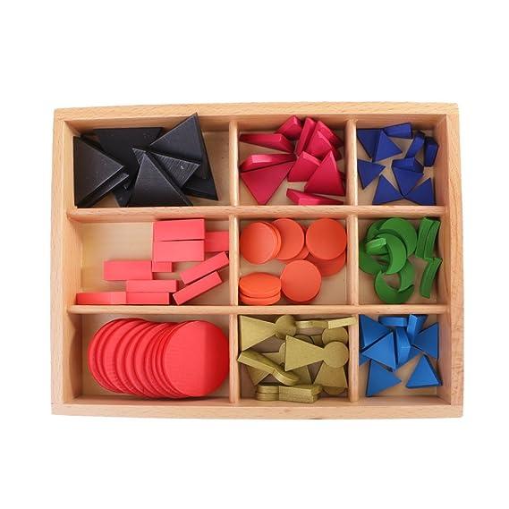 Sharplace Juego Educacional Montessori gramática Material sensorial 90 DE símbolos de gramática y Caja Kit Regalo para niños bebés: Amazon.es: Juguetes y ...