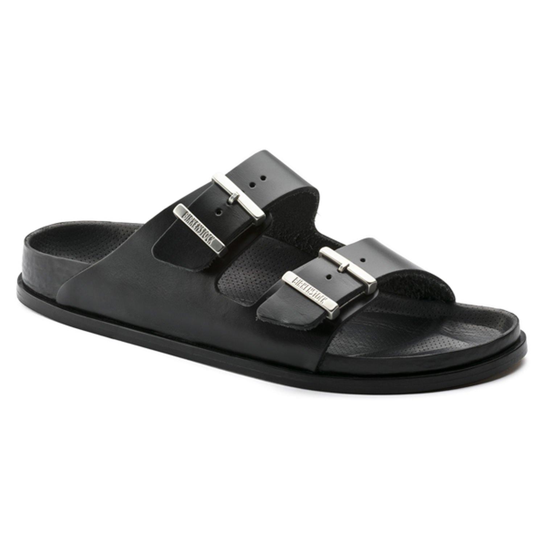 Birkenstock Arizona Unisex Leather Sandal B074S54JJY 37 N EU|Black Leather