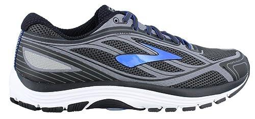 82d15d41dd3 Brooks Men s Dyad 9 Asphalt Electric Blue Black Sneaker 8. 5 4E ...