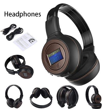Cebbay Liquidación ¡Venta Caliente! Auriculares Bluetooth Wireless 3.0 estéreo con micrófono de Llamada 10M