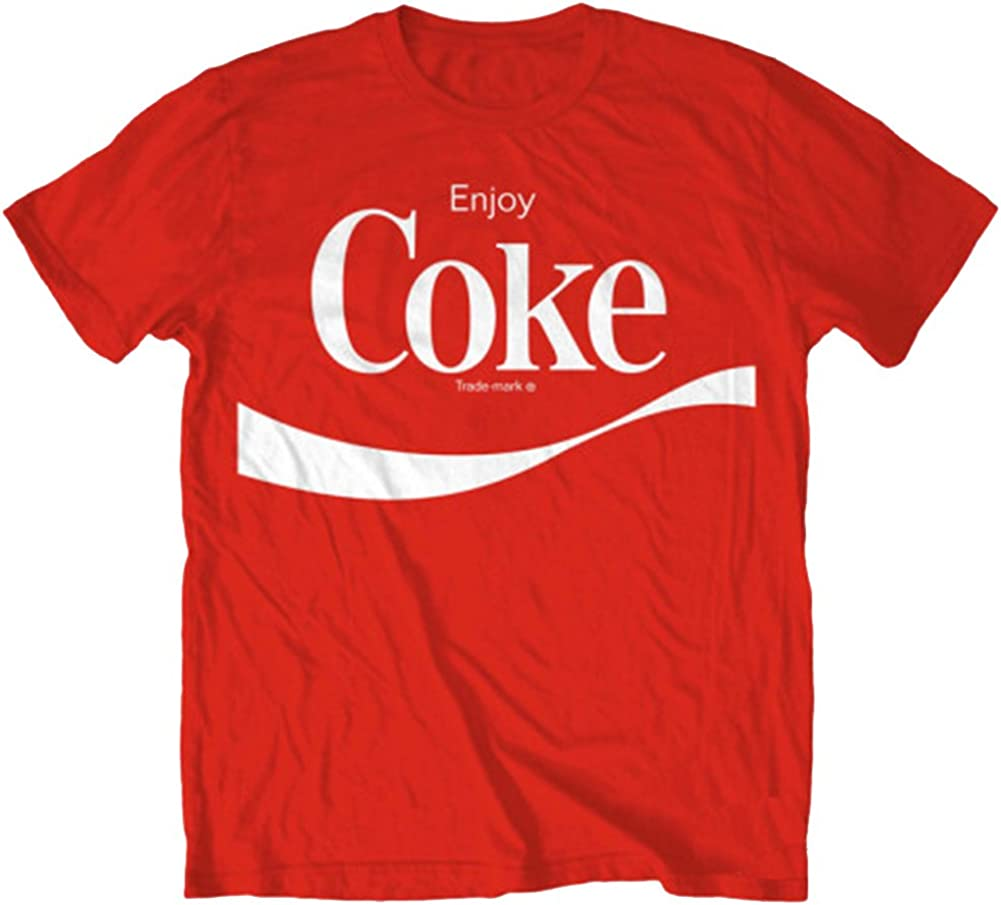 Coca-Cola Red T-shirt Tee Size Large Coke It/'s the Real Thing 100/% Cotton