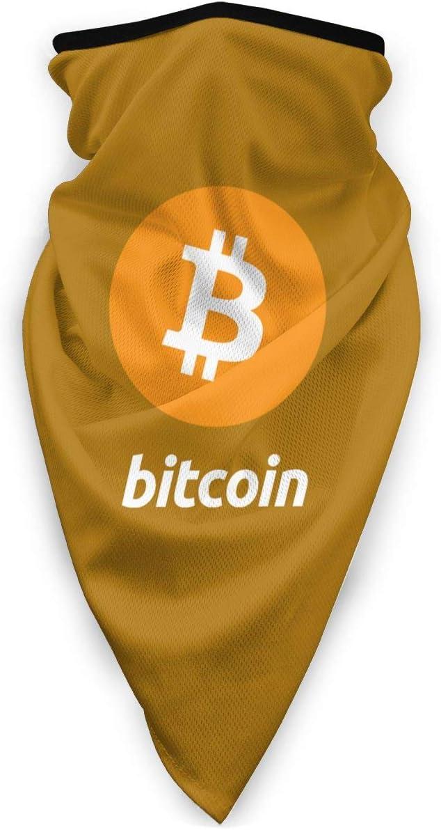 PQU Awesome Windproof Face Guard,Logotipo De Bitcoin Signo De ...