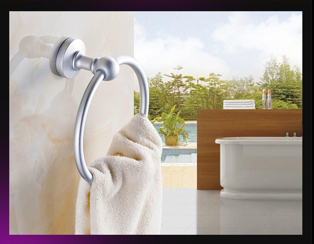 Edge To Space aluminum towel ring towel hanging towel rack towel ring towel ring ring ring