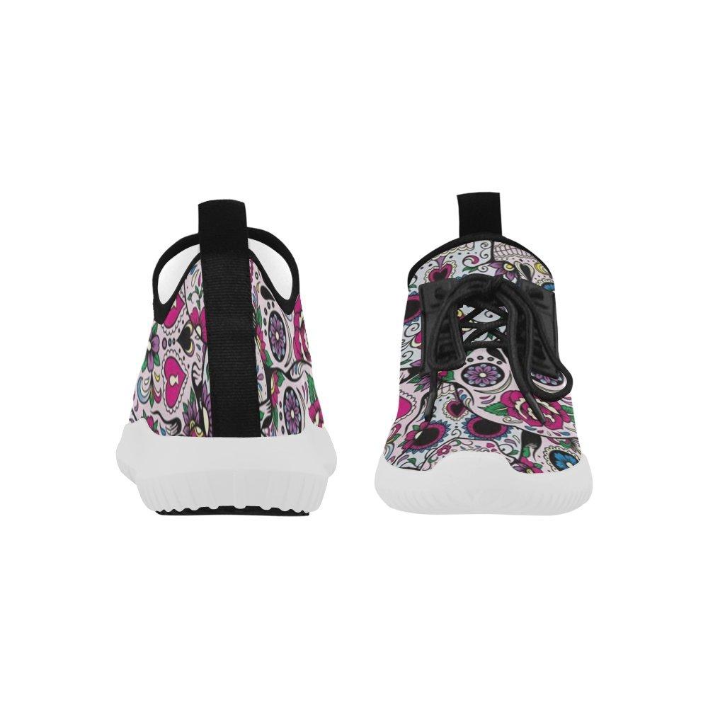 D-Story Skull Ultra Light Running Shoes Mens Boost Sneakers