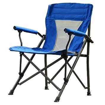 HM&DX Portátil Sillas de camping plegables exteriores Heavy ...