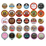 hot chocolate kcups variety - Coffee, Tea, Cider, Cappuccino and Hot Chocolate Single Serve Cups For Keurig K Cup Brewers Variety Pack Sampler, 30 Count (Mix Sampler)