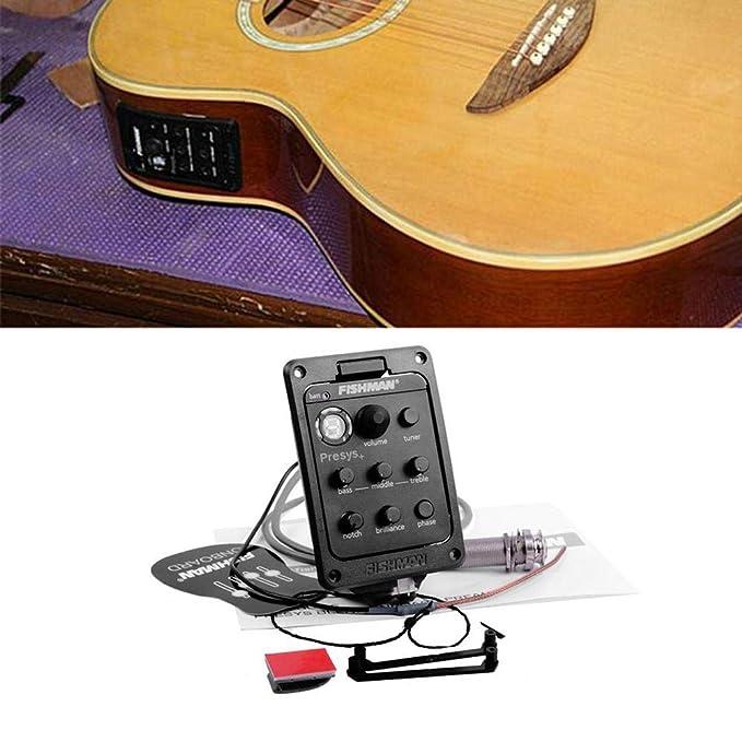 Guitarra pastilla,sintonizador de recogida,Beatie Transductor Clásica control de madera Pastillas de Guitarra,Piezas y repuestos para guitarras: Amazon.es: ...