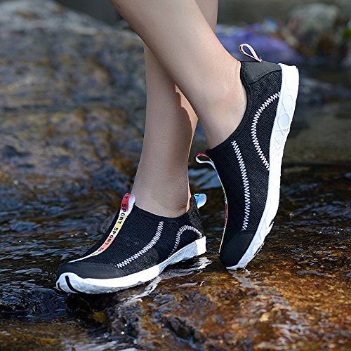 Séchage d'eau Chaussure Sport Respirant Extérieurs Rapid Chausson Bigood Noir Unisexe wExFnq00H