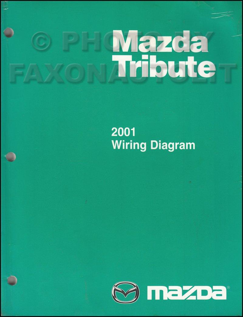 mazda tribute 2001 wiring diagram 2001 mazda tribute wiring diagram manual original mazda amazon  2001 mazda tribute wiring diagram