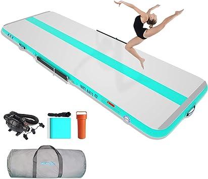 Elektropumpe 3//4//5//6M x 20CM Turnmatte Air Tumbling Track Matte Gymnastikmatte