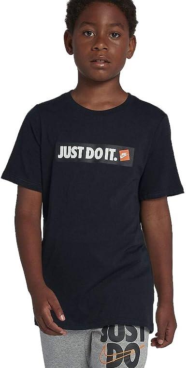 Nike Boys' T Shirt with Sticker