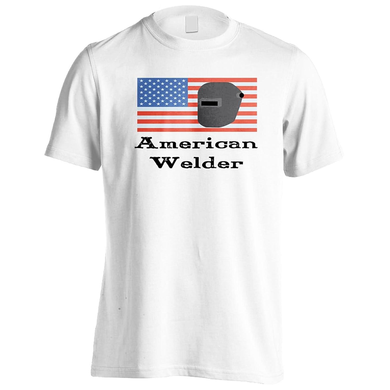 INNOGLEN Soldador Americano 1 Camiseta de los Hombres s672m: Amazon.es: Ropa y accesorios