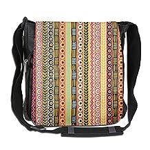 NYYSBU Crossbody Messenger Bag Mexican Blanket Stripes Shoulder Tote Sling Postman Bags One Size