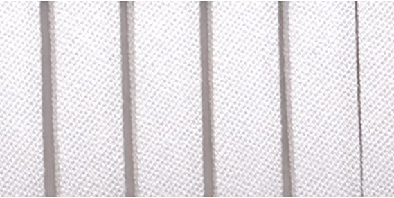 "Flat Binding Tape Straight Cut Printed Cotton 1-1//4/"" White 36 yds Roll #BT43"