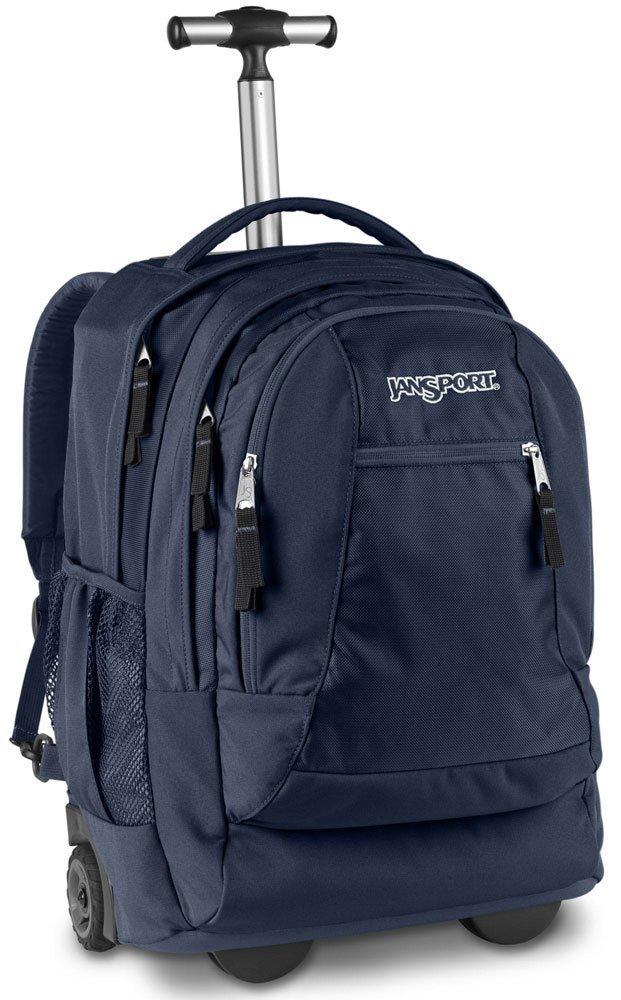 Jansport Driver 8 Wheeled Backpack (Navy) by JanSport (Image #1)