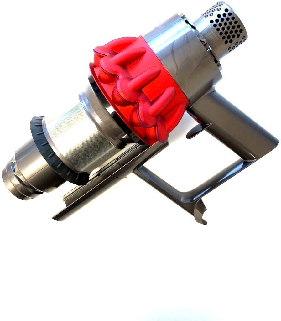 Dyson Main Body/Cyclone Assembly (Red) for V10 Fluffy and Motorhead Cordless Stick Vacuums, Part No. 969596-03