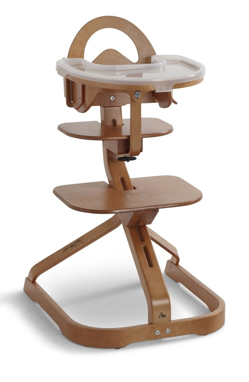 Amazon.com : Wooden High Chair With Removable Tray (Cherry) : Childrens  Highchairs : Baby