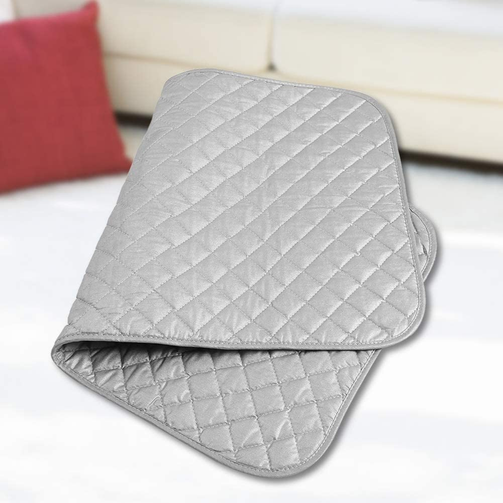 Delaman Portable Foldable Ironing Pad Mat Blanket for Table Top and Travelling Useful Accessory