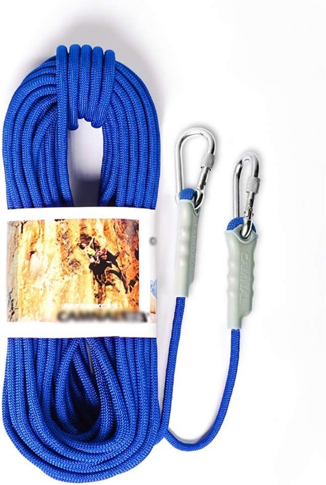 Cuerda de escalada azul exterior diámetro -9.5mm / 12mm ...