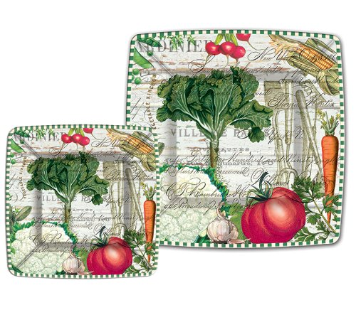 Michel Design Works From My Garden 8 Count Luncheon/Dessert Paper ()
