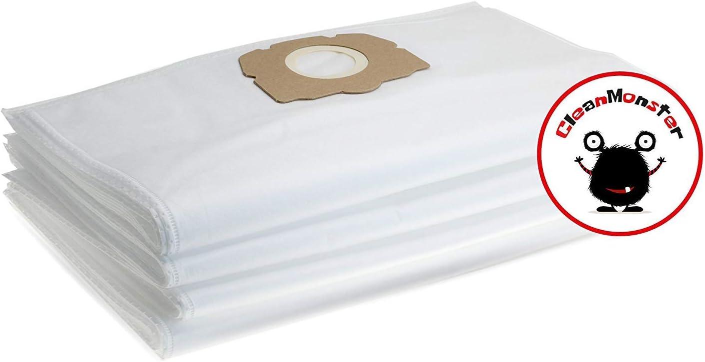 WD 6 P Premium alternativa a 2.863-006.0 bolsas de aspiradora de Microsafe 5 Bolsas de filtro para K/ärcher Serie WD6