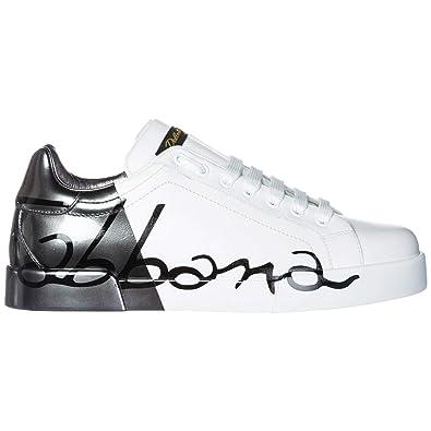 Herren Leder Schuhe Dolceamp; Portofino Gabbana Herrenschuhe Sneakers j5A3L4Rq