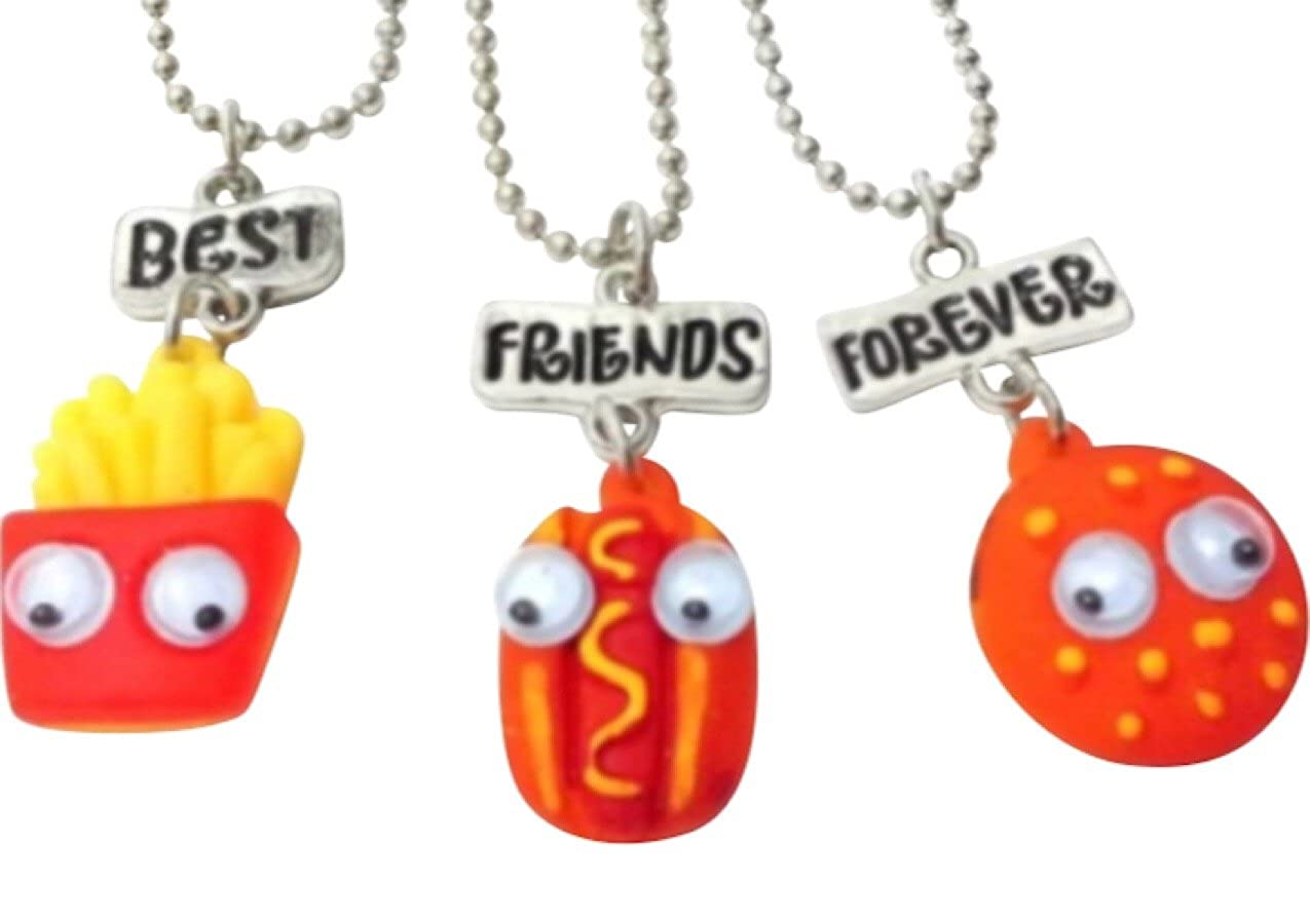 Amazoncom Three Piece Best Friends Forever Burger Fries And Hot