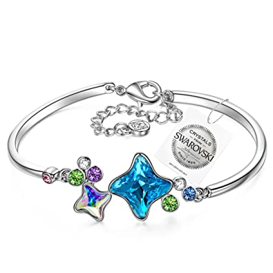 PAULINE & MORGEN Childhood Memory Bracelet for Women made with Crystals from SWAROVSKI 3Ml76