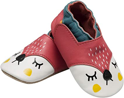 Cartoon Yellow Bee Pattern Baby Shoes Elastic Band Soft First Walker Shoes UK