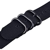 Watch Bands for iWatch Woven Nylon Sport Wrist Strap with Metal Buckle for Apple Watch 42/44mm