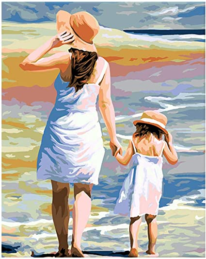 Hold My Hand 40 x 50 cm Painting By Numbers Kit On Canvas N11