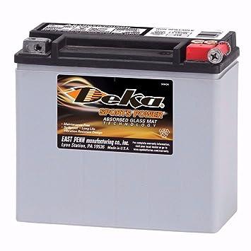 Amazon Com Deka Power Sports Etx20l Battery Automotive