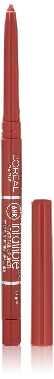 L'Oréal Paris Colour Riche Never Fail Lip Liner, Coral, 0.009 oz.