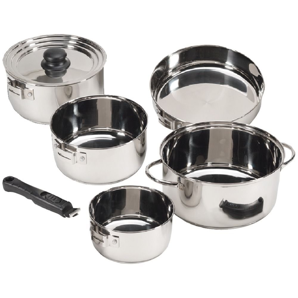(Ship from USA) STANSPORT 369 7-Piece Cook Set /ITEM NO#8Y-IFW81854247116