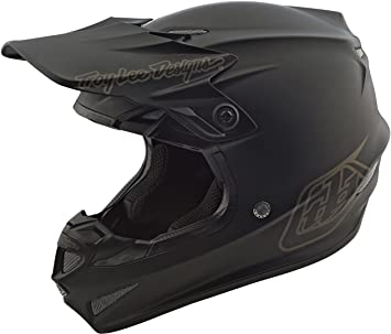 Casco Mx Troy Lee Designs 2018 Se4 Mono Polyacrylite Negro (S , Negro)