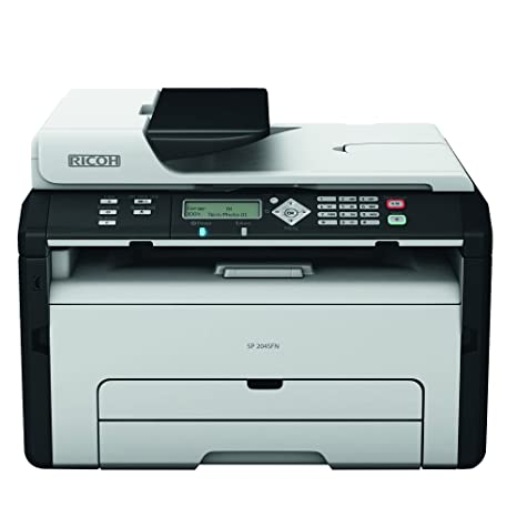 Amazon.com: Ricoh SP 204 SFN impresora multifuncional blanco ...