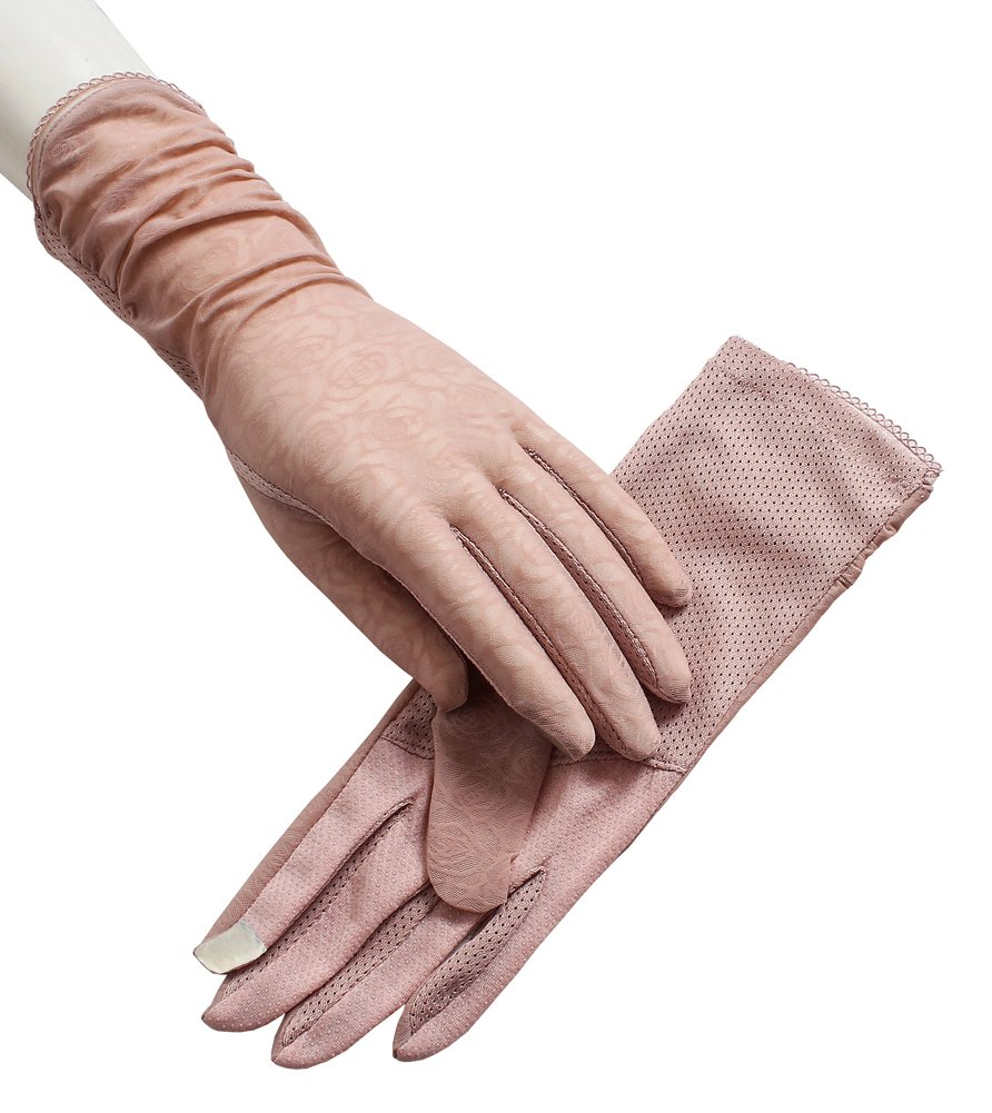 Women's Sun UV Protection Gloves Driving Glove Touchscreen Non-slip Thin