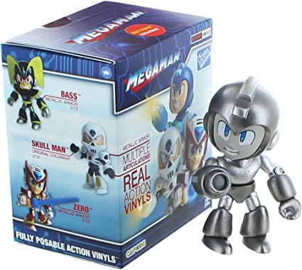 Lot Of 3! Megaman Action Vinyls Mystery Figure Blind Box Loyal Subjects New