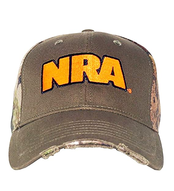 2772cb4cf2263 Image Unavailable. Image not available for. Color  NRA Men s Zeroed In Adjustable  Fit Hat Green